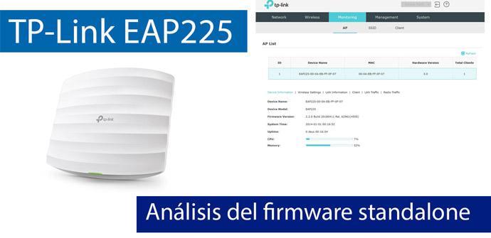 Ver noticia 'Análisis del firmware del AP profesional TP-Link EAP225 en modo standalone'