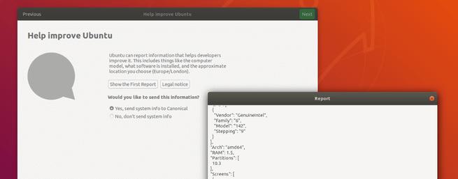 Ubuntu consultar recopilación de información