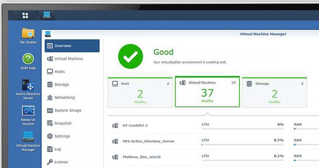 Virtual Machine Manager Pro compatibilidad