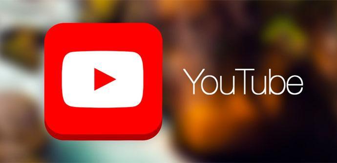 YouTube con fondo