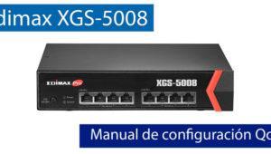 Cómo configurar el QoS del switch 10 Gigabit Edimax XGS-5008