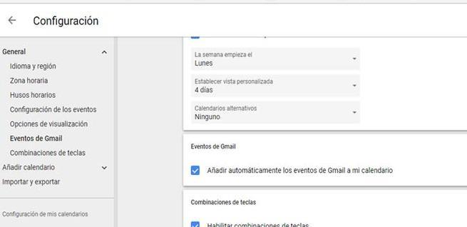 Evitar eventos de forma automática en Gmail