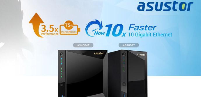 Ver noticia 'ASUSTOR AS4002T y AS4004T: Dos nuevos NAS domésticos con puerto 10Gigabit'
