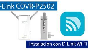 Cómo instalar el sistema Wi-Fi Mesh D-Link COVR-P2502 con la aplicación D-Link Wi-Fi App
