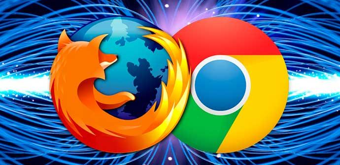 Firefox y Chrome