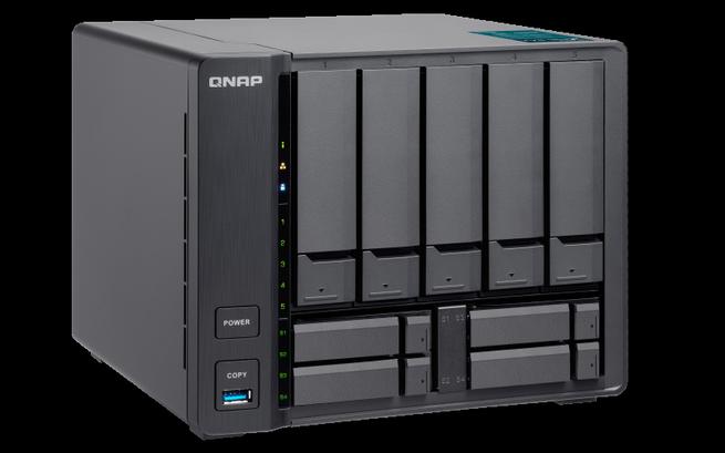 QNAP TVS-951X NAS disponible con hasta 32 GB de RAM