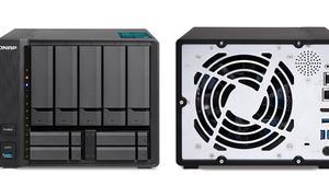 QNAP presenta el NAS TVS-951X, con nueve bahías y procesador Intel de séptima generación
