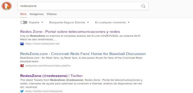 DuckDuckGo, una de las alternativas a Google