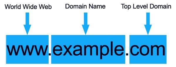 estructura dominio web