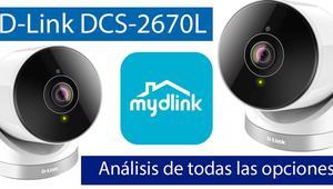 Análisis en vídeo de las opciones de la cámara IP D-Link DCS-2670L con mydlink