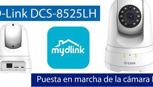 Cómo instalar y configurar la cámara IP D-Link DCS-8525LH con mydlink