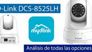Análisis en vídeo de todas las opciones de la cámara D-Link DCS-8525LH