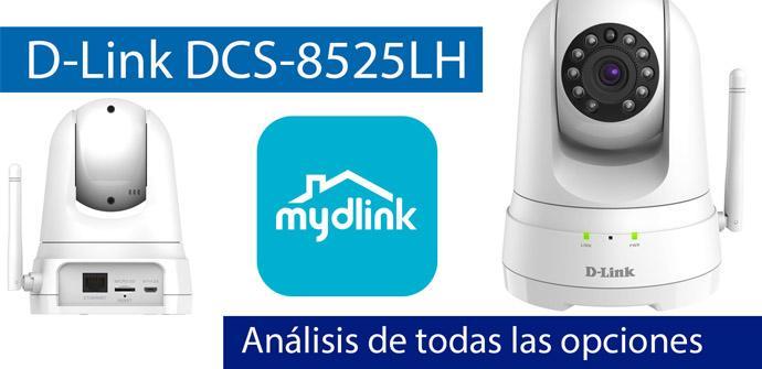 Ver noticia 'Análisis en vídeo de todas las opciones de la cámara D-Link DCS-8525LH'