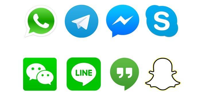 Aplicaciones de mensajería alternativas a las oficiales