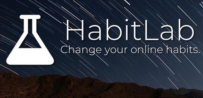 Cambiar hábitos con HabitLab