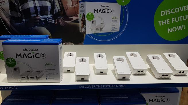 devolo magic nuevos dispositivos PLC