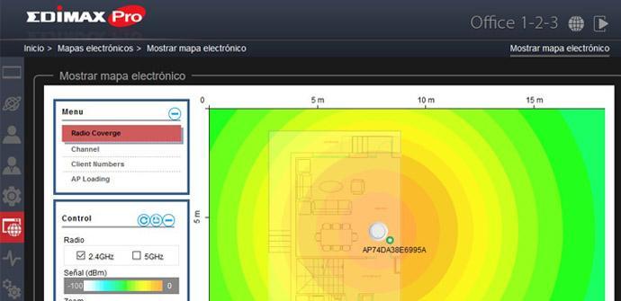 Ver noticia 'Cómo configurar el E-MAP (Mapa de calor con la cobertura Wi-Fi) del Edimax Office 1-2-3'
