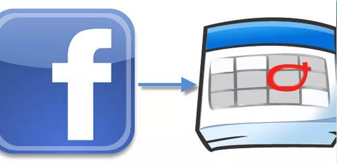 Pasar eventos de Facebook al calendario de Google