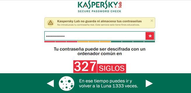 Herramienta de Kaspersky para saber si una clave es segura