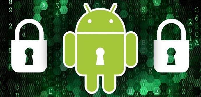 Opciones de seguridad en un dispositivo Android