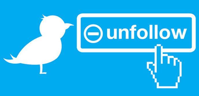 Twitter prueba una función para sugerir dejar de seguir a usuarios