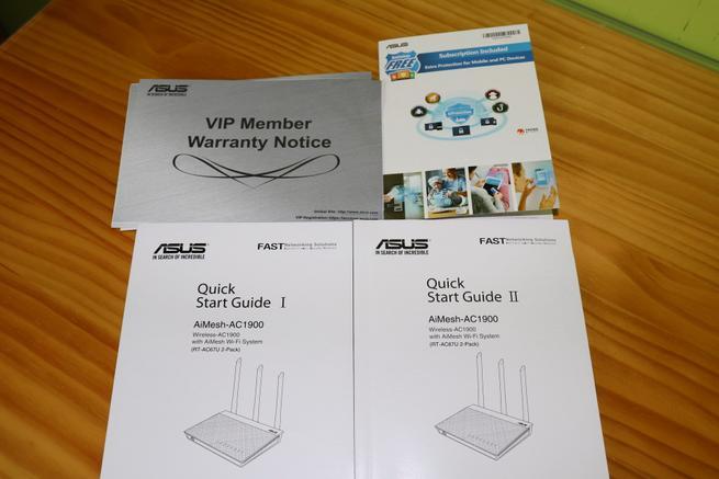 Documentación del sistema Wi-Fi Mesh ASUS RT-AC67U