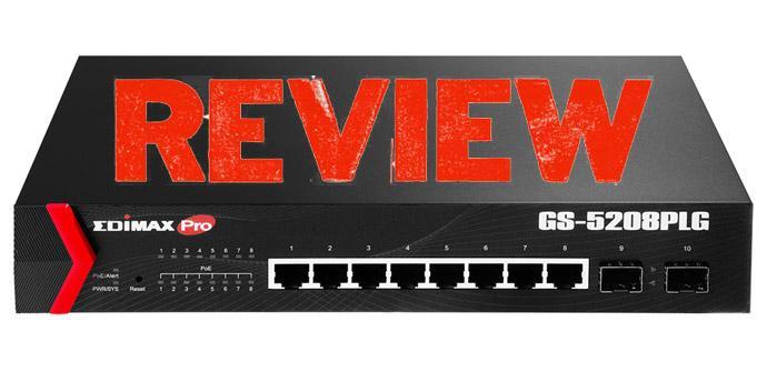 Ver noticia 'Analizamos el switch gestionable Edimax GS-5208PLG, con puertos Gigabit PoE+'