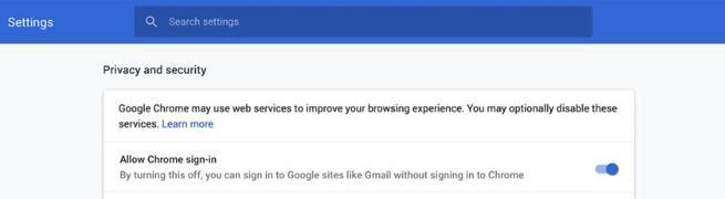 Inicio sesión automático Google Chrome