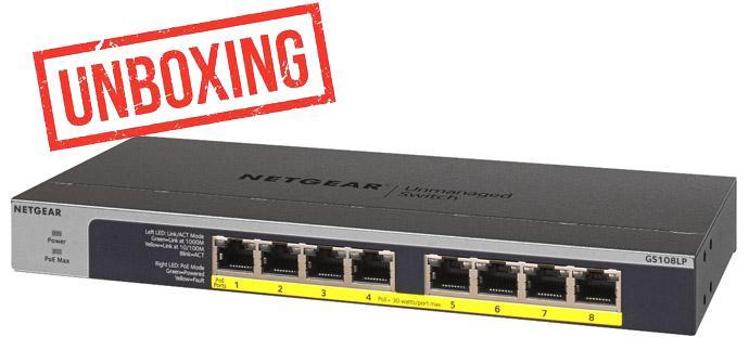 Ver noticia 'Conoce el switch Gigabit PoE+ NETGEAR GS108LP en nuestro vídeo'