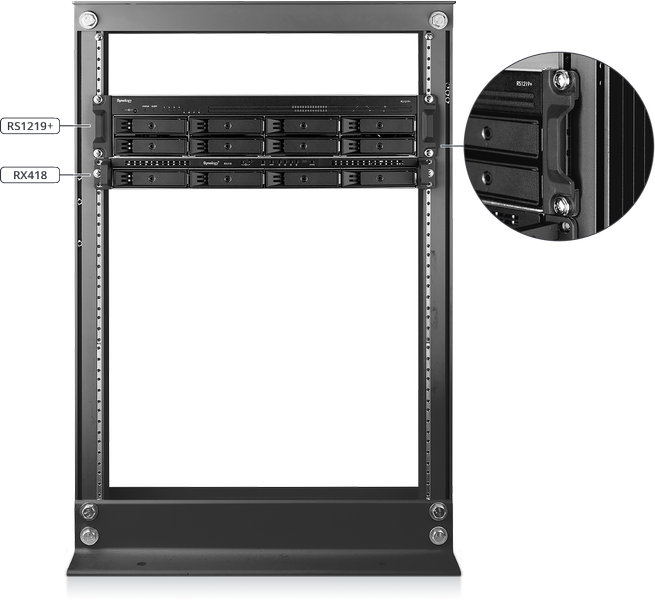 RackStation RS1219 1