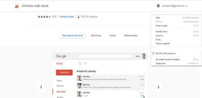 Actualizar extensiones de Google Chrome de manera manual