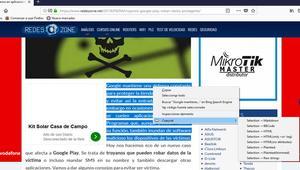 Cómo copiar el contenido de una Web como HTML, texto plano y otros