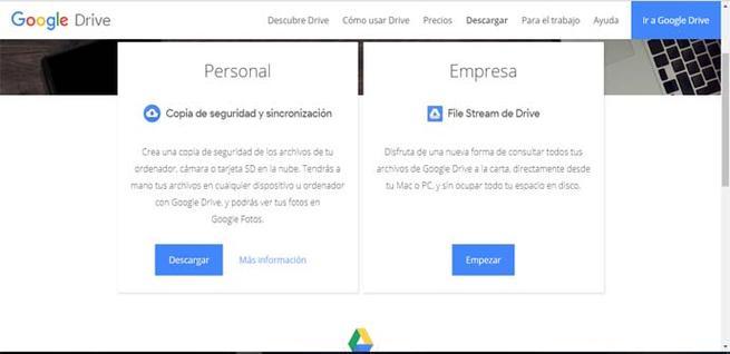 Descargar Google Drive