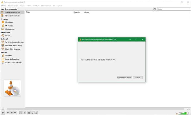 Actualización VLC