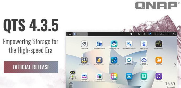 Ver noticia 'Conoce todas las mejoras de QNAP en la nueva versión QTS 4.3.5 para sus NAS'