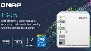 QNAP TS-351: Conoce este NAS de gama alta con CPU Intel para entorno doméstico