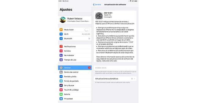 Actualización de seguridad para iOS y para iCloud