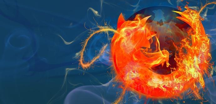 firefox fuego y azul