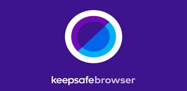 Navegador Keepsafe para móviles