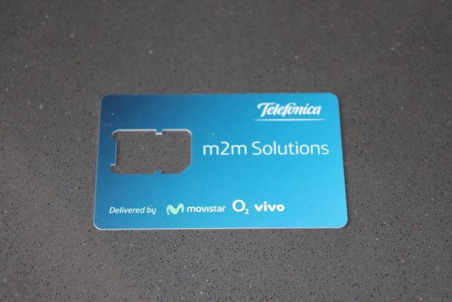 Tarjeta SIM M2M de Movistar para la Alarma Securitas Direct