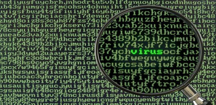 Los tipos de virus más comunes