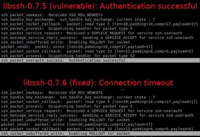vulnerabilidad libssh