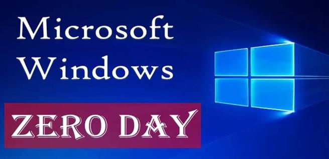 Nueva vulnerabilidad de Zero-Day de Windows