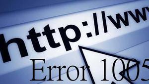 Cómo solucionar el error 1005 al navegar por Internet