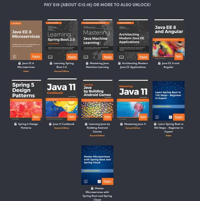 Humble Book Bundle Java by Packt 3