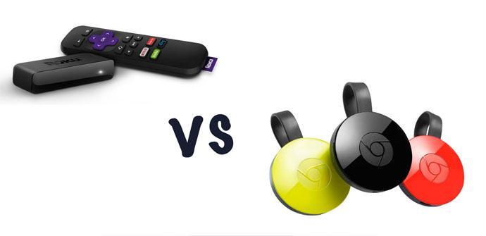 Diferencias entre Chromecast y Roku