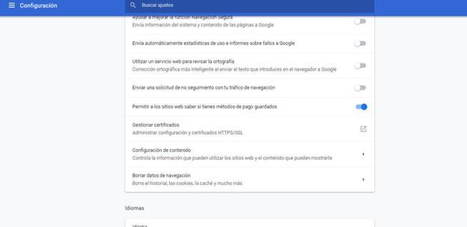 Configuración de la cámara Web en Google Chrome