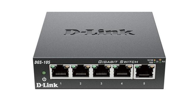 D-Link DGS-105 en oferta por el Cyber Monday en Amazon