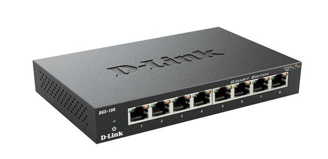 Switch D-Link DGS108 en oferta