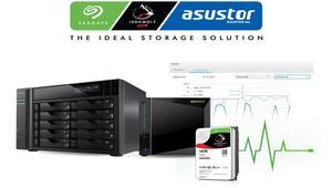 Asustor y Seagate lanzan IronWolf Health, un nuevo software de gestión